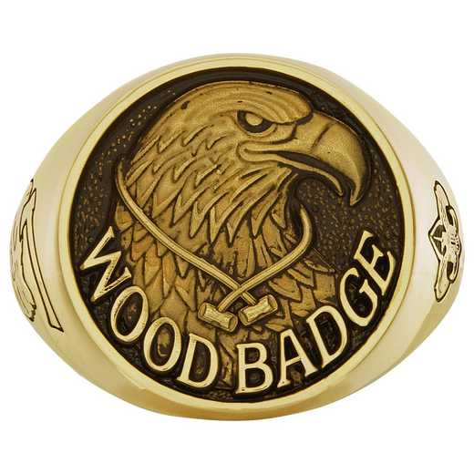Men's Wood Badge Ring Boy Scouts of America Ring